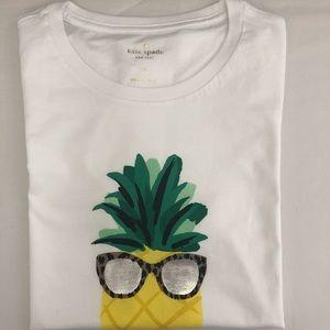 Kate Spade NWT Pineapple T-Shirt